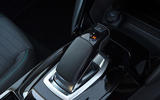 Peugeot e-208 2020 road test review - gearstick