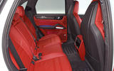 Porsche Cayenne Turbo 2018 road test review rear seats