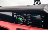 Porsche Taycan 2020 road test review - infotainment