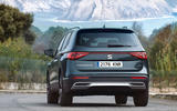 Seat Tarraco 2018 review - on the road rear