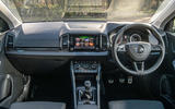 Skoda Karoq Scout 2019 road test review - dashboard