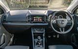 Skoda Karoq Scout 2019 road test review - dashboard