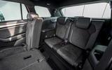Skoda Kodiaq vRS 2019 road test review - rear seats