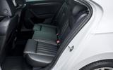 Skoda Superb iV 2020 road test review - rear seats