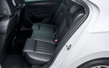 Skoda Superb iV 2020 road test review - rear seats