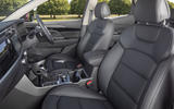 Ssangyong Korando 2019 road test review - front seats