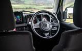 Suzuki Jimny 2018 road test review - steering wheel