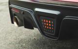 Toyota GR Supra 2019 road test review - diffuser brake light