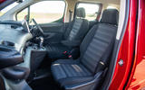 Vauxhall Combo Life 2018 road test review - cabin