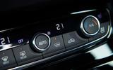 Vauxhall Grandland X Hybrid4 2020 road test review - climate controls