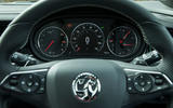 Vauxhall Insignia Sports Tourer GSI review instrument cluster