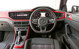 Volkswagen Polo GTI 2018 road test review dashboard