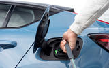 16 Volvo C40 Recharge 2021 first drive review charging port