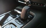 Volvo S60 Polestar Engineered 2020 road test review - gearstick