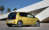 Volkswagen e-Up 2020 road test review - static rear