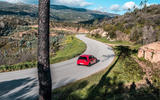 Volkswagen Golf GTI TCR 2019 road test review - cornering rear
