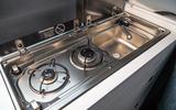 Volkswagen Grand California 2020 road test review - stove