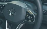 16 VW ID 3 2021 road test review steering wheel