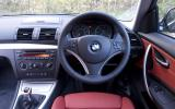BMW 118d Coupe dashboard