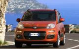 Fiat Panda 1.2 cornering