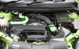 2.5-litre Ford Focus RS petrol engine