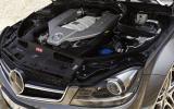 6.3-litre Mercedes-AMG C 63 Coupé engine