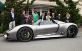 Porsche powers up 918 Spyder