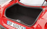 Ferrari 599 GTO boot space