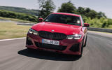 Alpina B3 2020 road test review - track nose