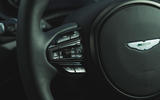 Aston Martin DBX 2020 road test review - steering wheel buttons