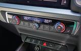 Audi A1 S Line 2019 road test review - climate controls