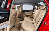 Audi A6 2019 road test review - rear seats