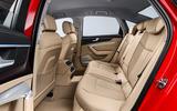 Audi A6 2019 road test review - rear seats