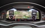 Audi A6 Avant 2018 road test review - instruments satnav