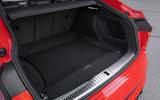 Audi E-tron Sportback 2020 road test review - boot