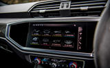 Audi RS Q3 2020 road test review - infotainment