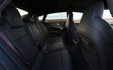 Audi RS7 Sportback 2020 road test review - rear seats