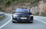 Audi S8 2020 road test review - on the road nose