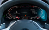 BMW 8 Series Coupé 2019 road test review - digital instruments