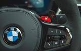 17 BMW M5 CS 2021 RT paddles