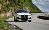 BMW X3 M Competition 2019 review - cornering front