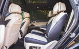 BMW X7 2020 road test review - middle row