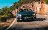 BMW Z4 2018 review - on the road nose