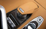 Corvette Stingray C8 2019 road test review - gear selector