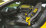 Ferrari 488 Pista 2019 road test review - cabin