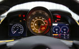 Ferrari 812 Superfast 2018 road test review instrument cluster