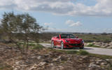 Ferrari Portofino review on the road trees