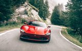 Ferrari Roma 2020 road test review - on the road nose
