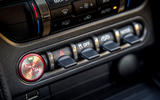 Ford Shelby Mustang GT500 2020 road test review - start button