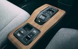 Honda e 2020 road test review - centre console